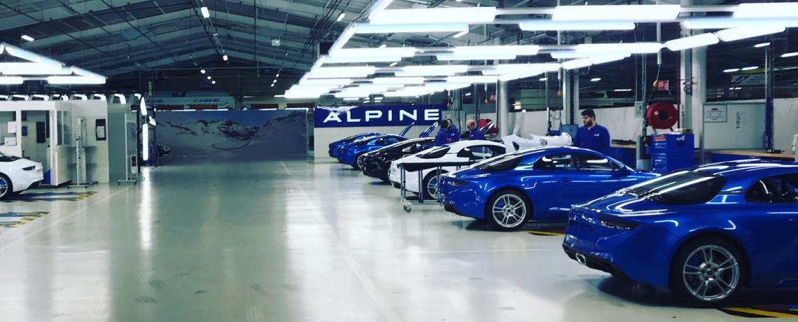 Visite usine Dieppe