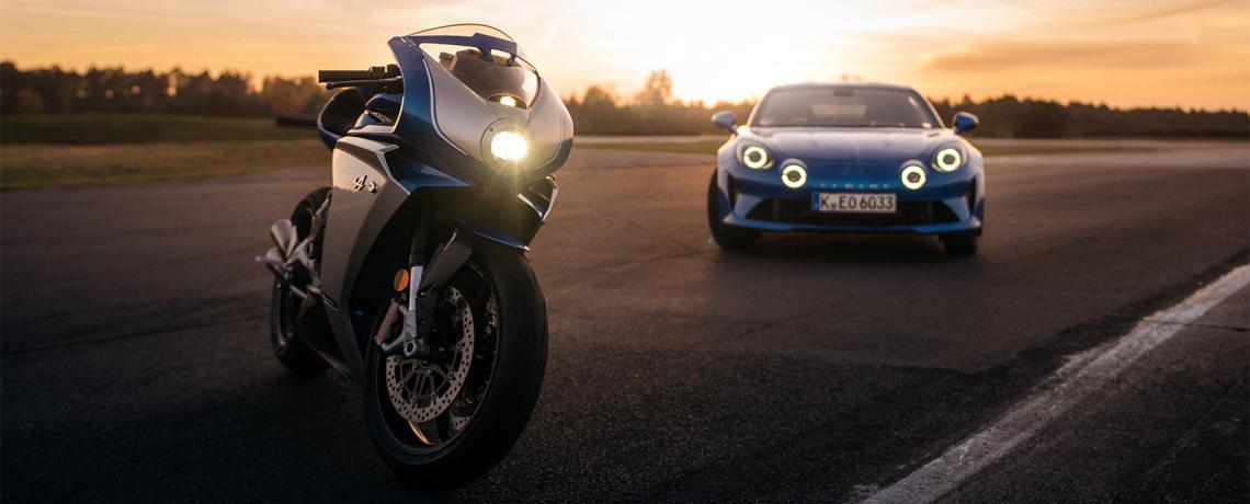 Alpine moto MVAgusta