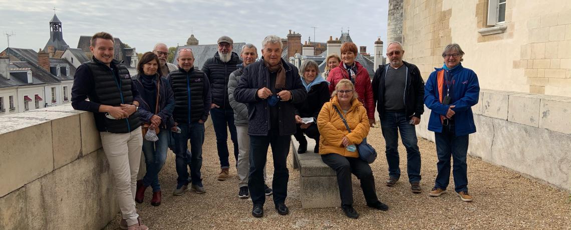Alpine La Rochelle découvre la Touraine
