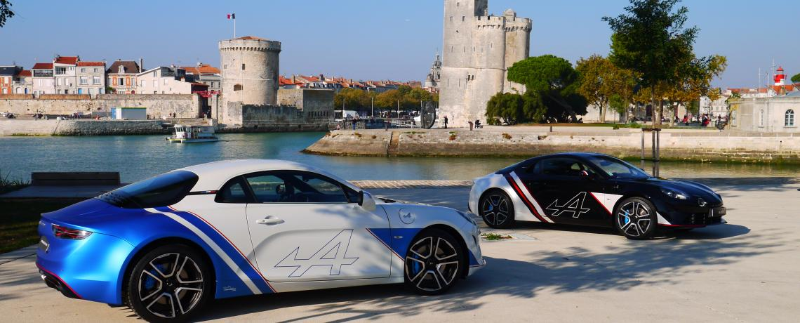 Photos La Rochelle 2 tours Alpine A110