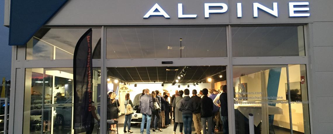 Club Entreprise Aytré - Alpine A110